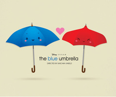 The blue umbrella2