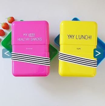 Not on the high street lunch boxes
